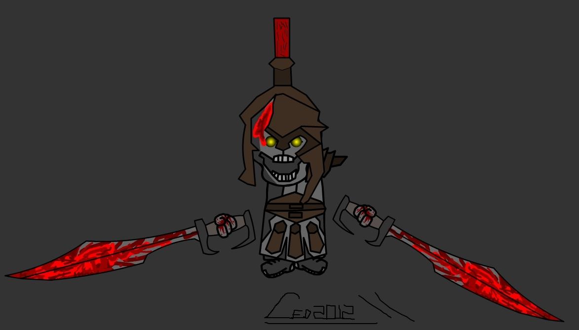 Undead Hoplite (GodOfWar)
