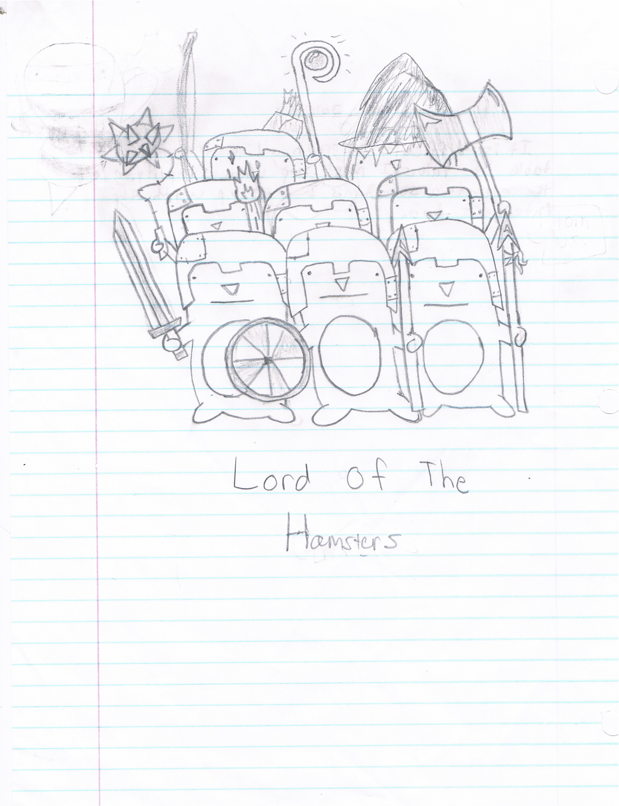Lord Of The Hamster