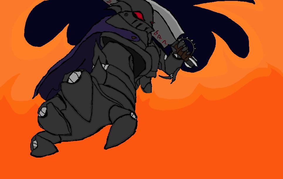 Knight on Fire