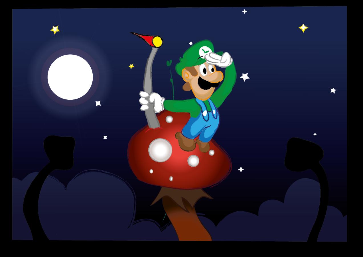 Night in the Mushroom Kingdom
