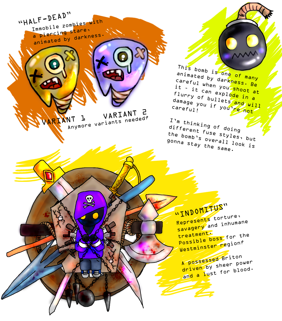 P. Chaplaincy Enemy Concepts