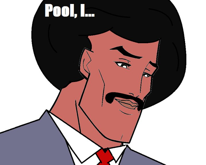 Pool Guy (Meme) - Handsome Fac