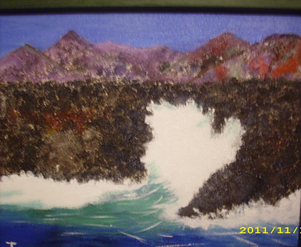 Waves in El Hierro island 2