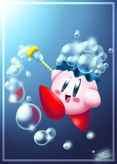 Bwubble Kirby