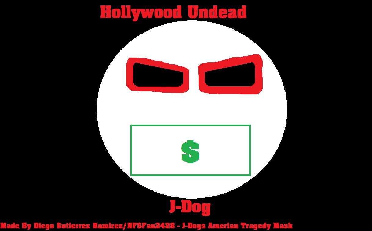 J-Dog HU American Tragedy Mask