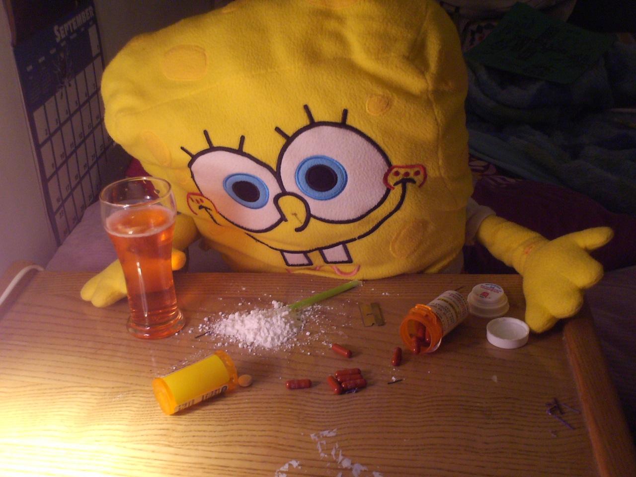 SpongeBob CokeHead
