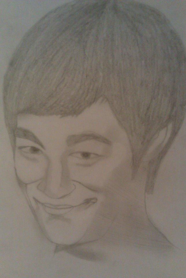 Sketch of Bruce Lee