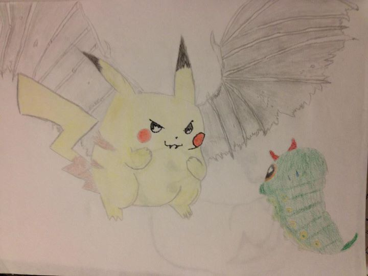 Demonic Pikachu