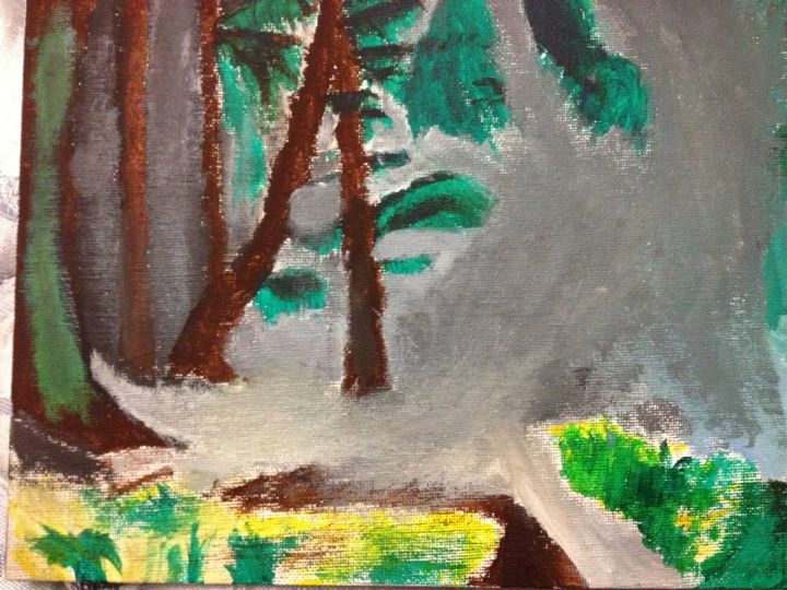 Flooded Forest (first painting