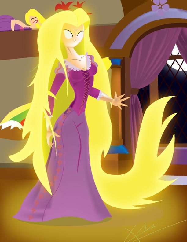 powerful rapunzel