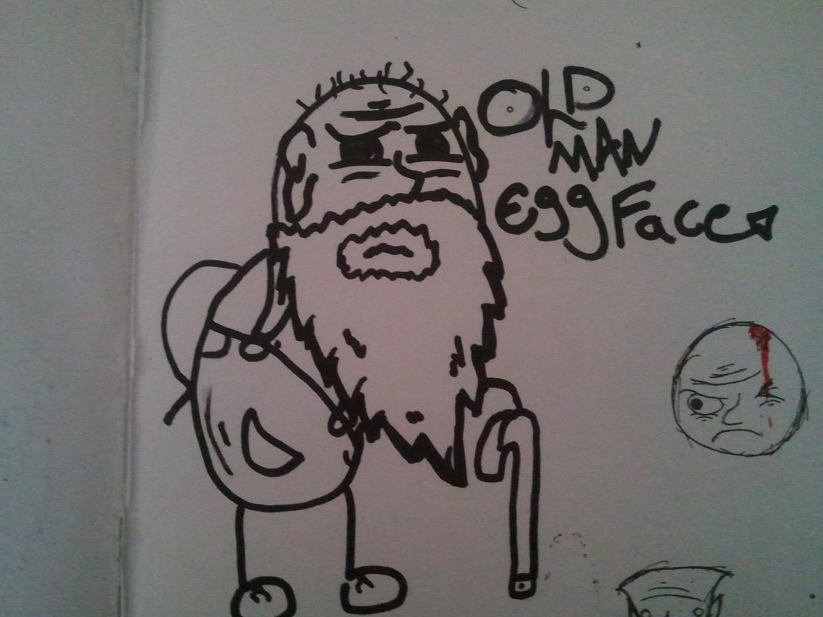 Oldman Eggface