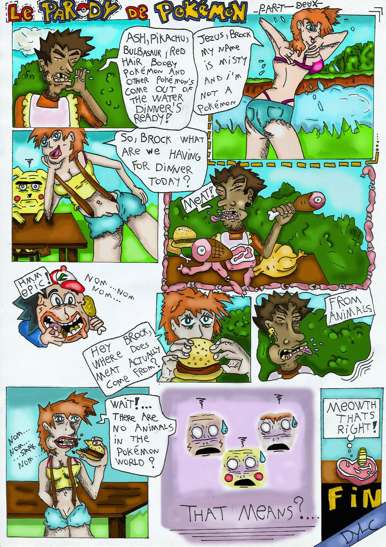 Le parody de pokémon : meat