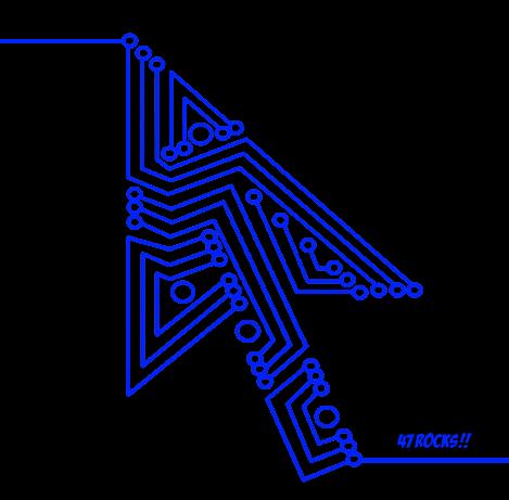 Blue line entry