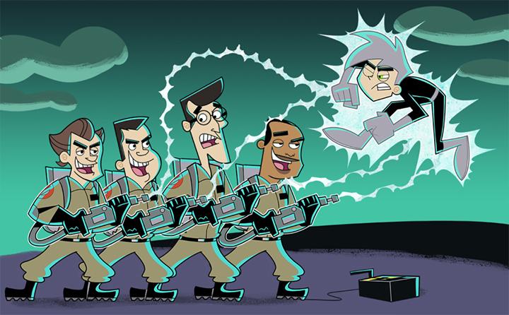 Danny Phantom vs GhostBusters