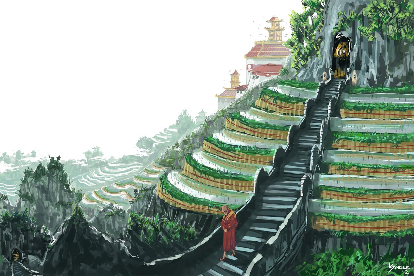 Monastery Stairs.