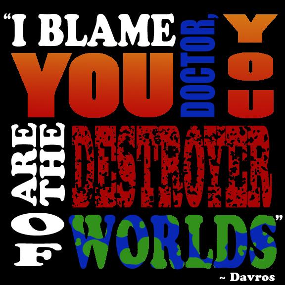 Davros Quote