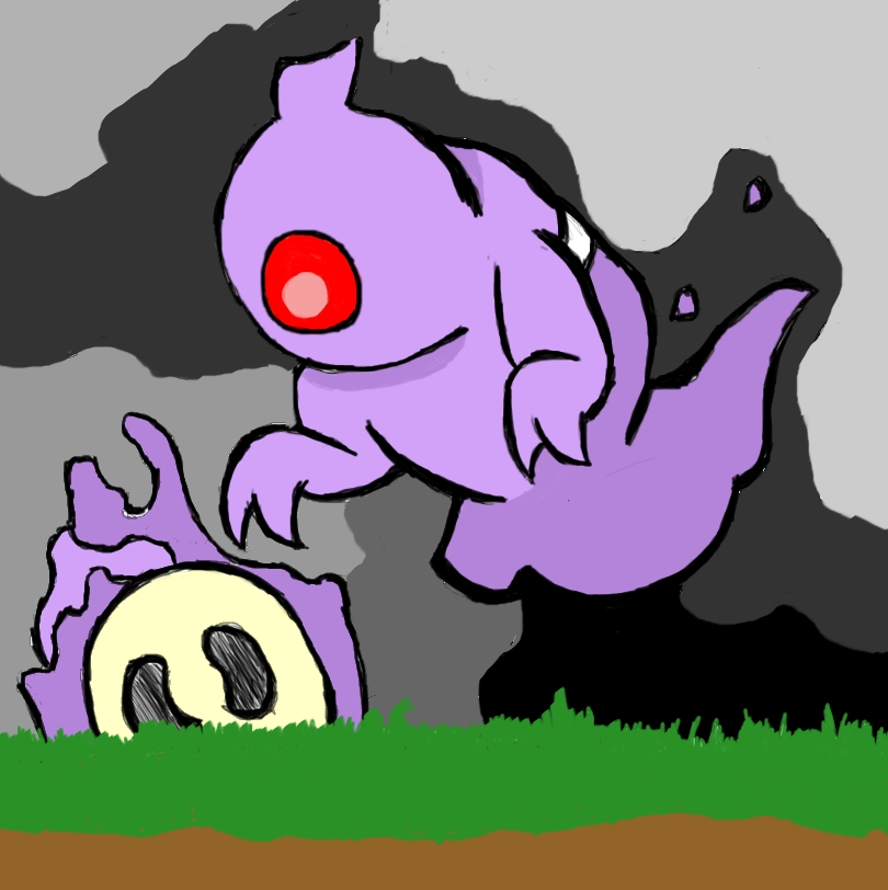 Duskskull finds a skull.