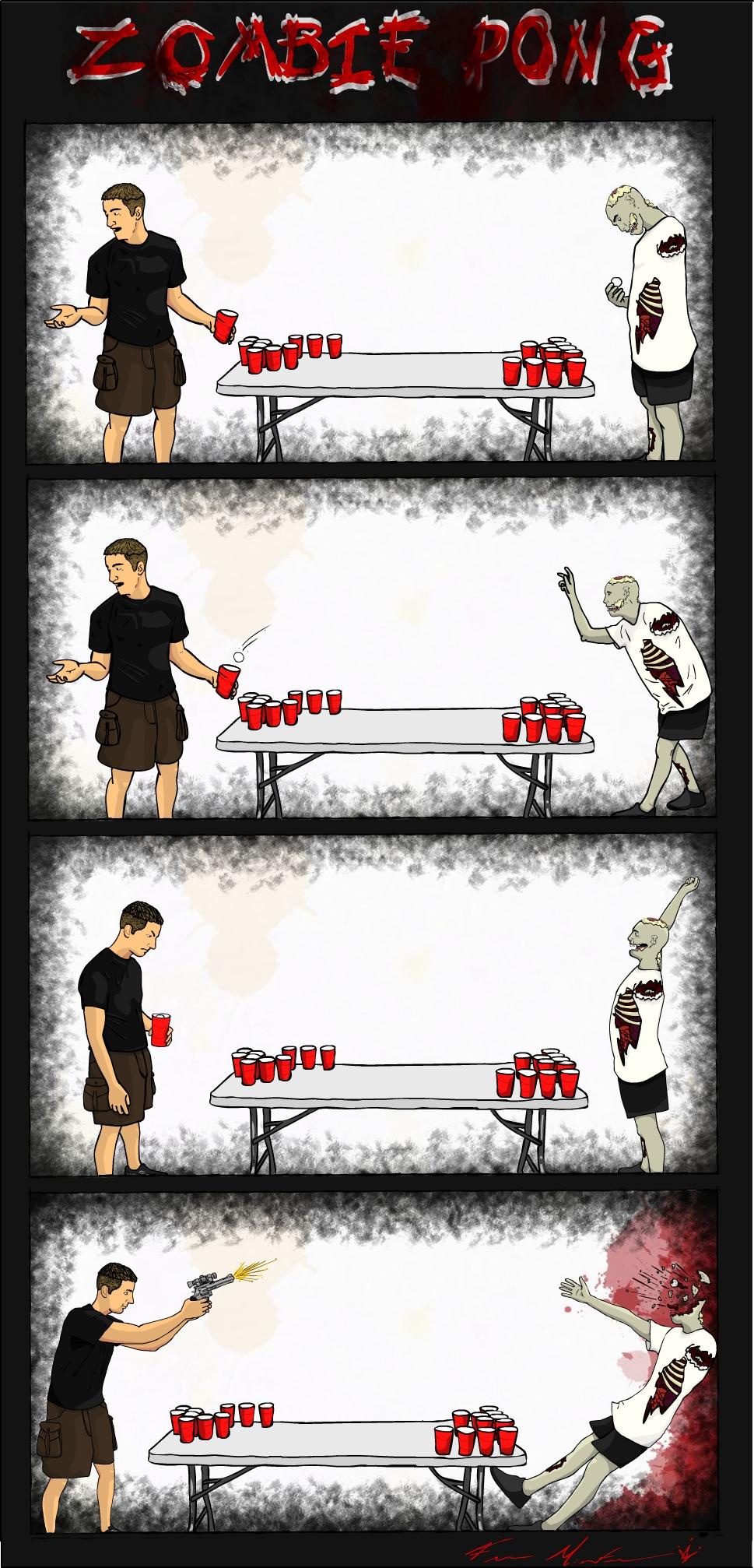 Zombie Pong
