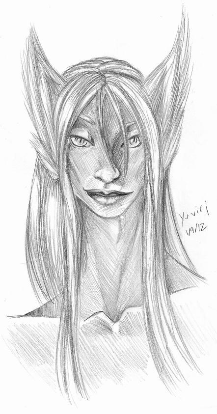 Yuviri portrait