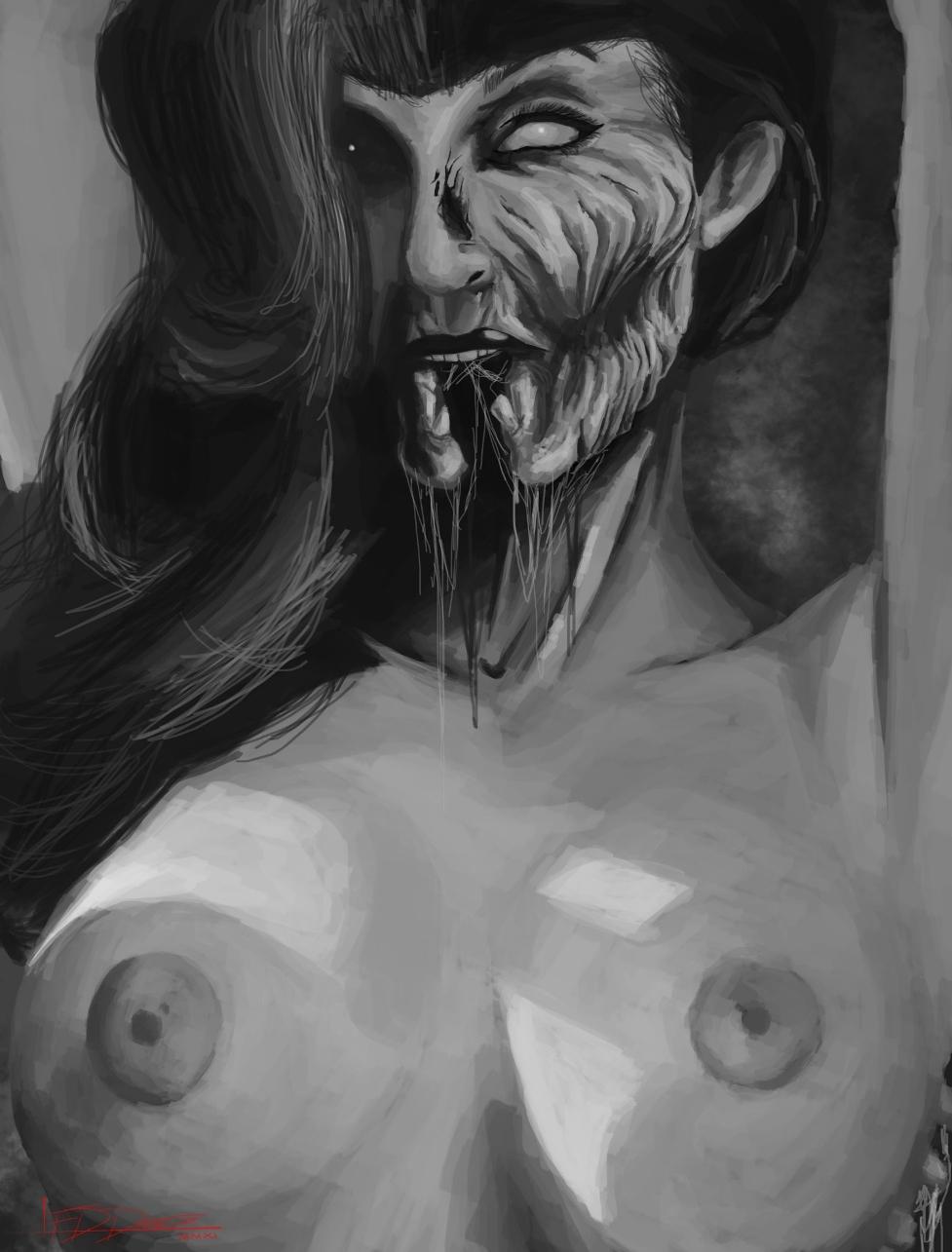 Zombie Boobies