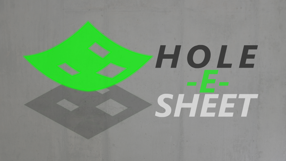 Hole-E-Sheet