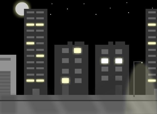 City Road - Nighttime BG