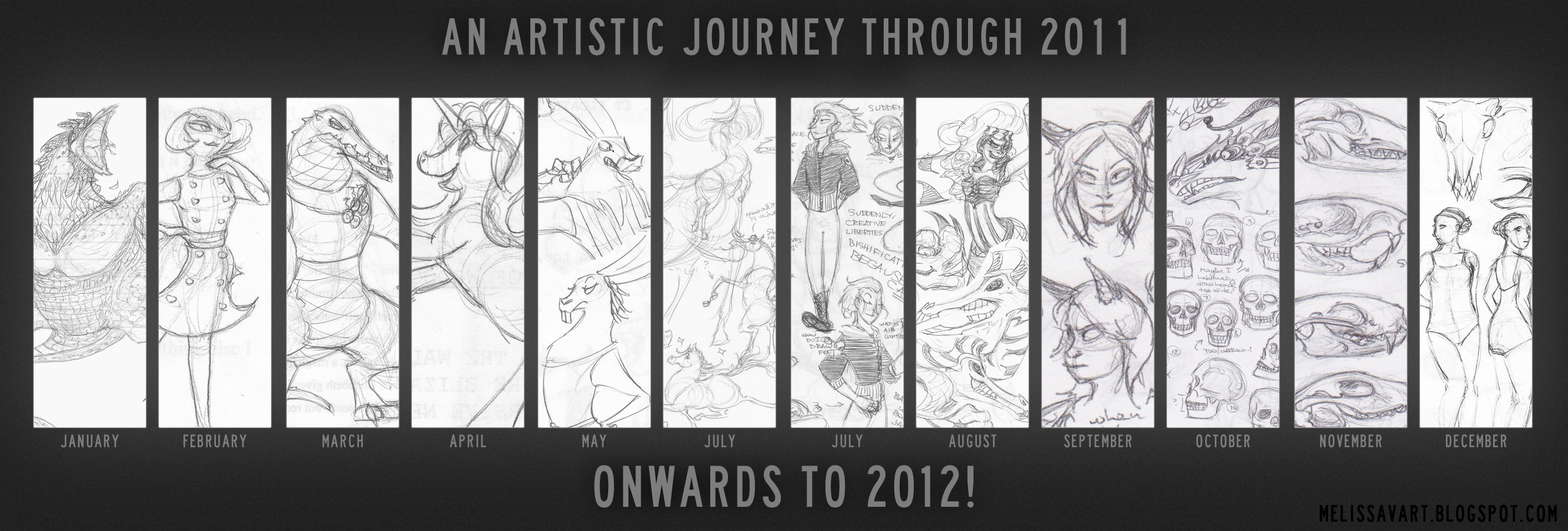 Artistic Journey Through 2011