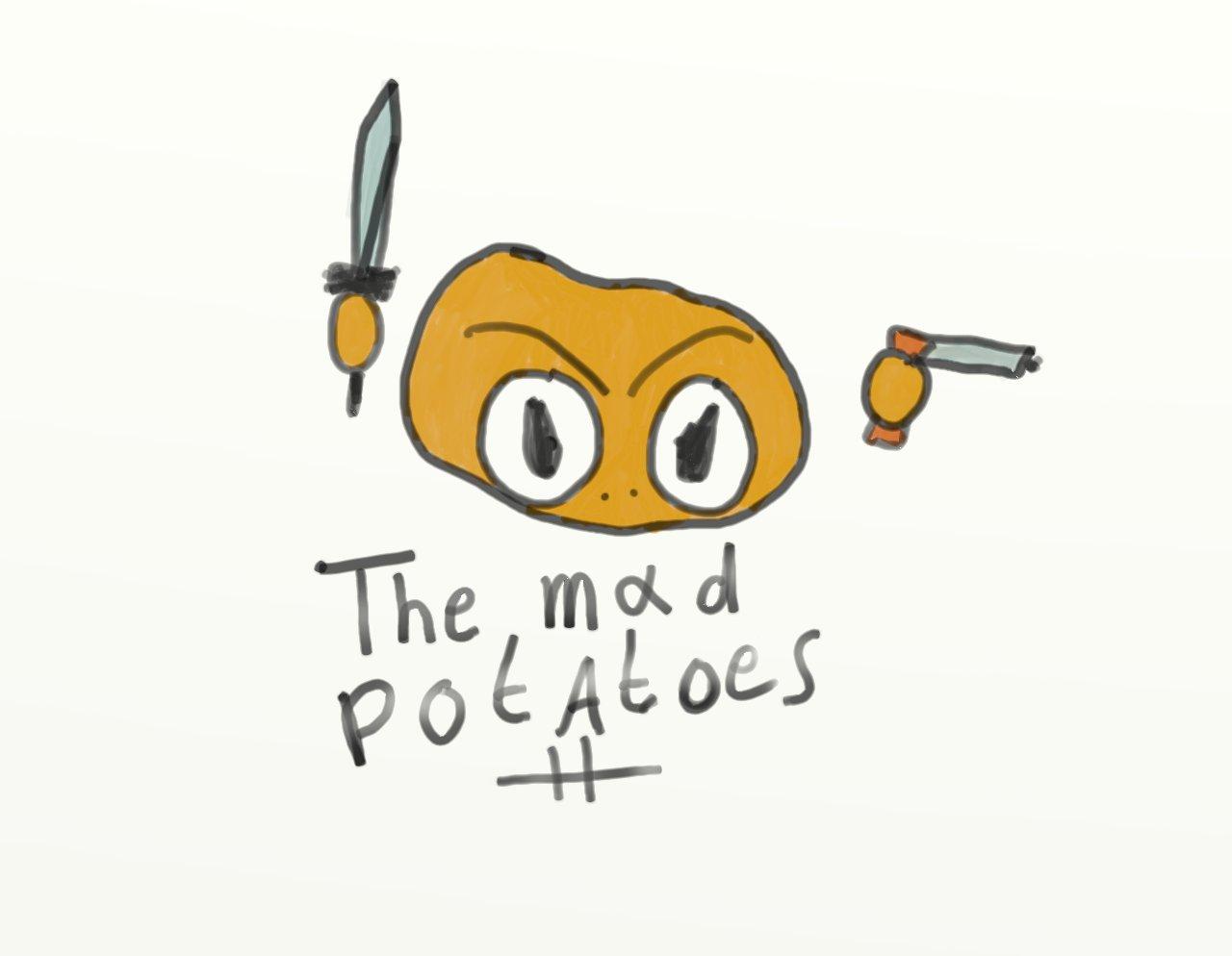 Mad Potatoez Logo