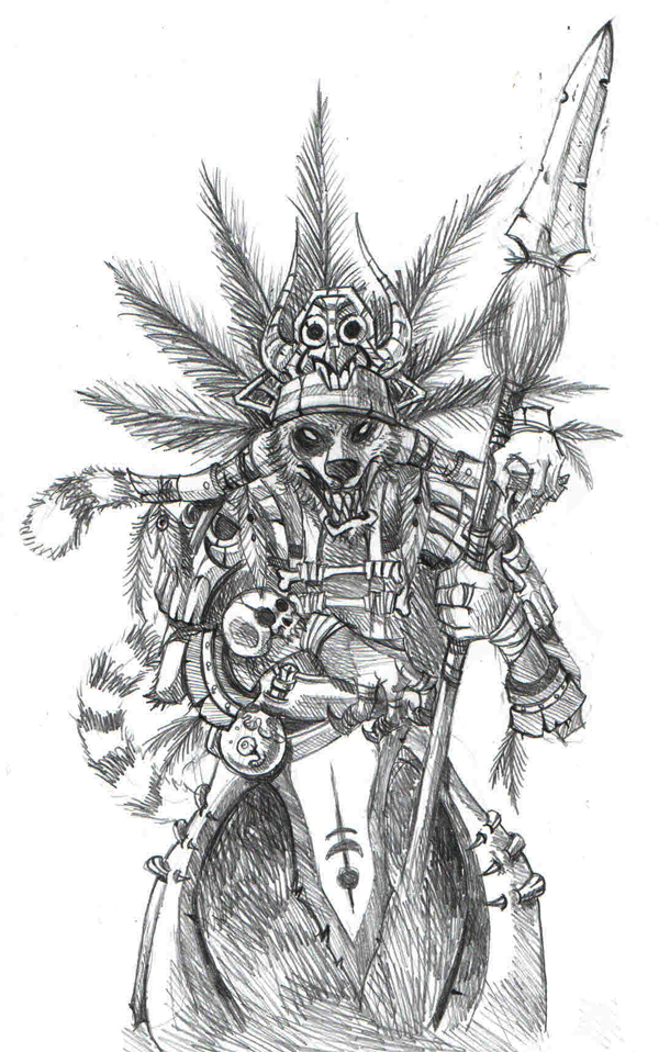Lemur Chieftain Concept