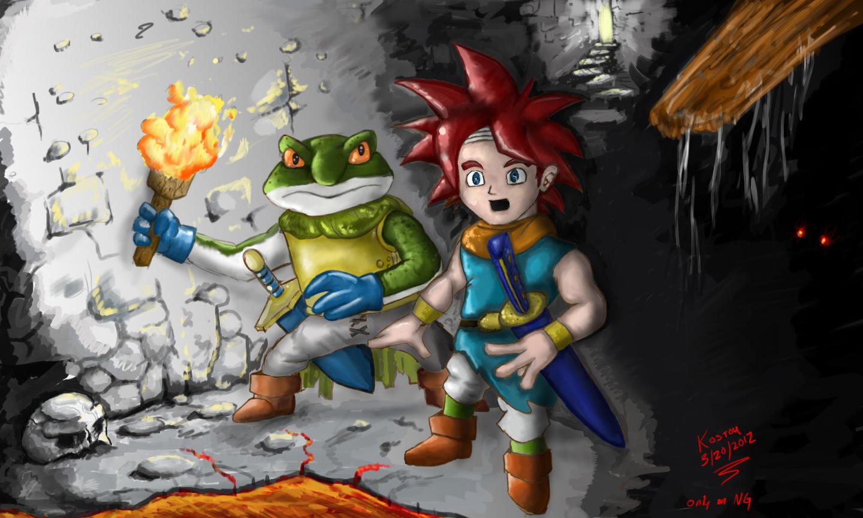Crono and Frog