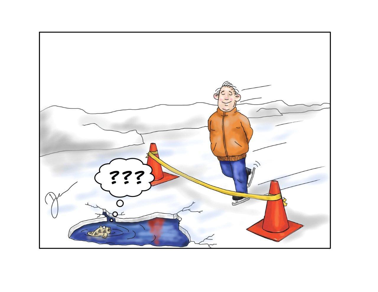Henri skating