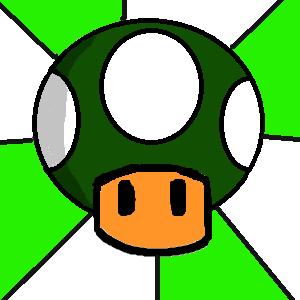 Mario's One Up Mushroom