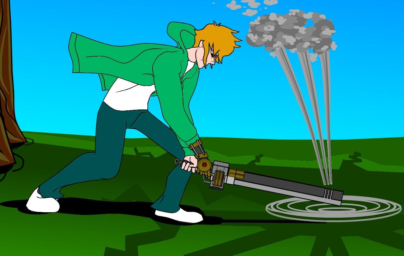 Selby swings the sword