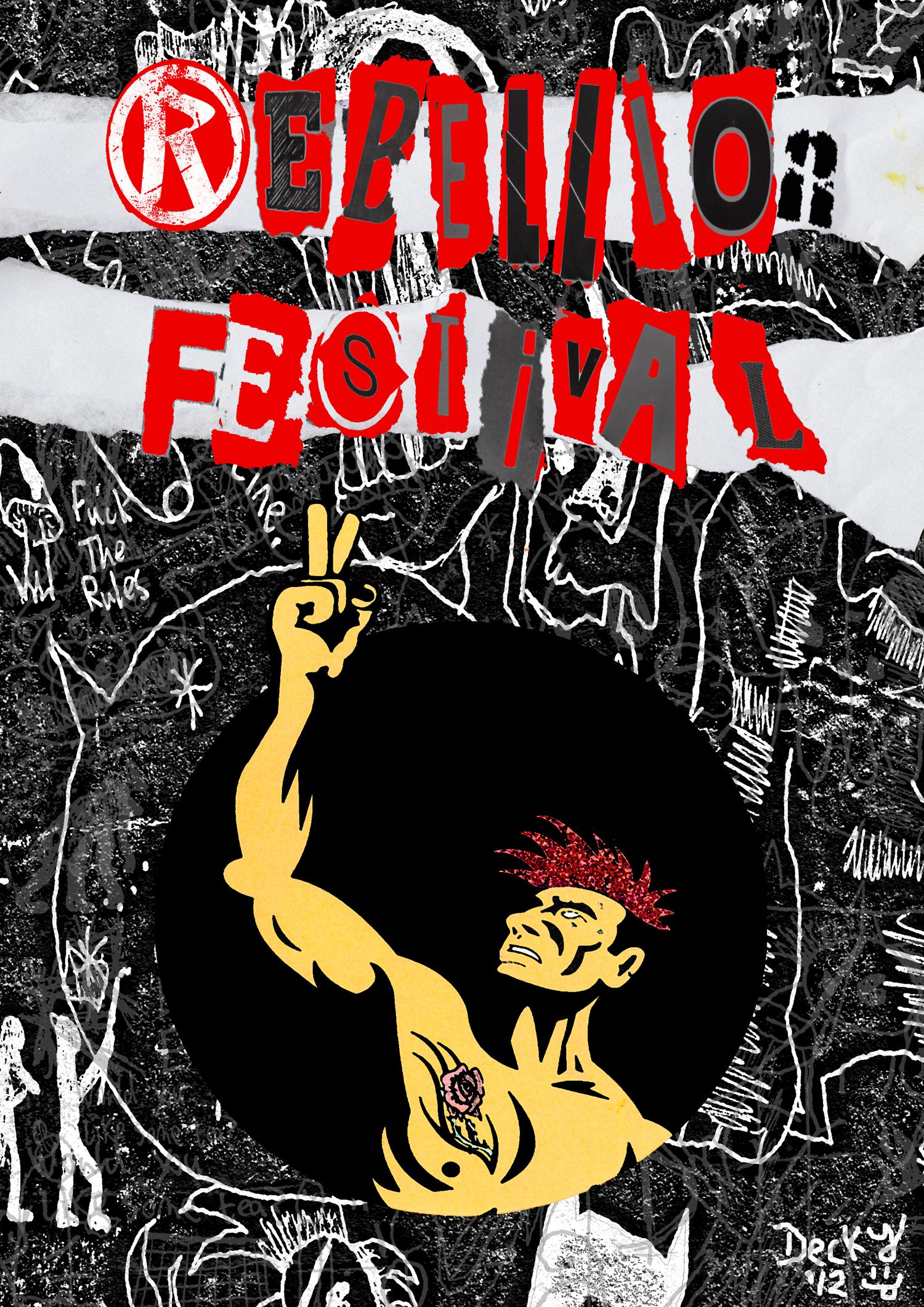 Rebellion Festival Poster