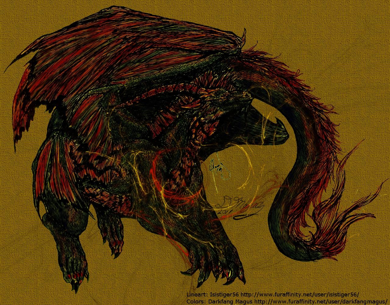 Isis' Dragon