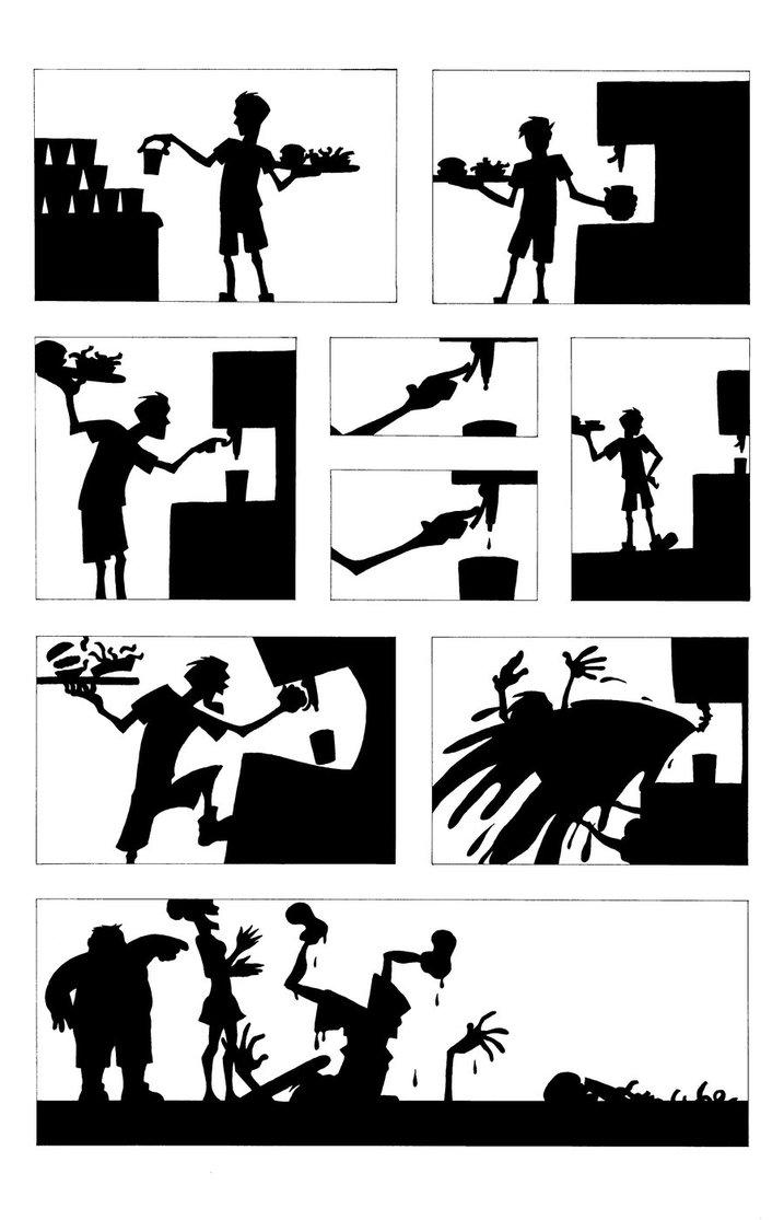 Silhouette Comic