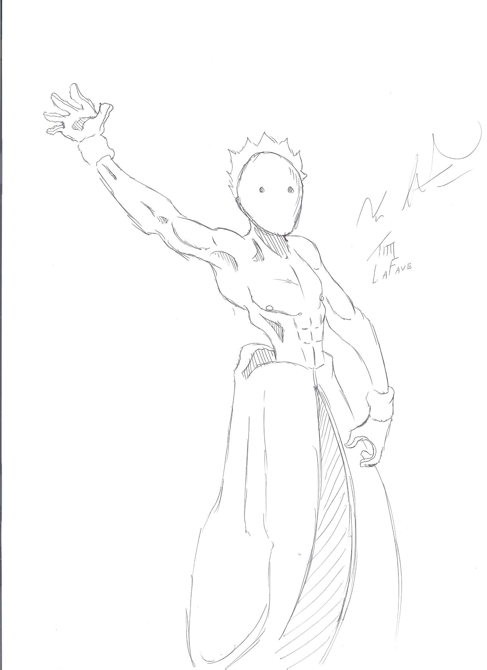 A Naked Ninja