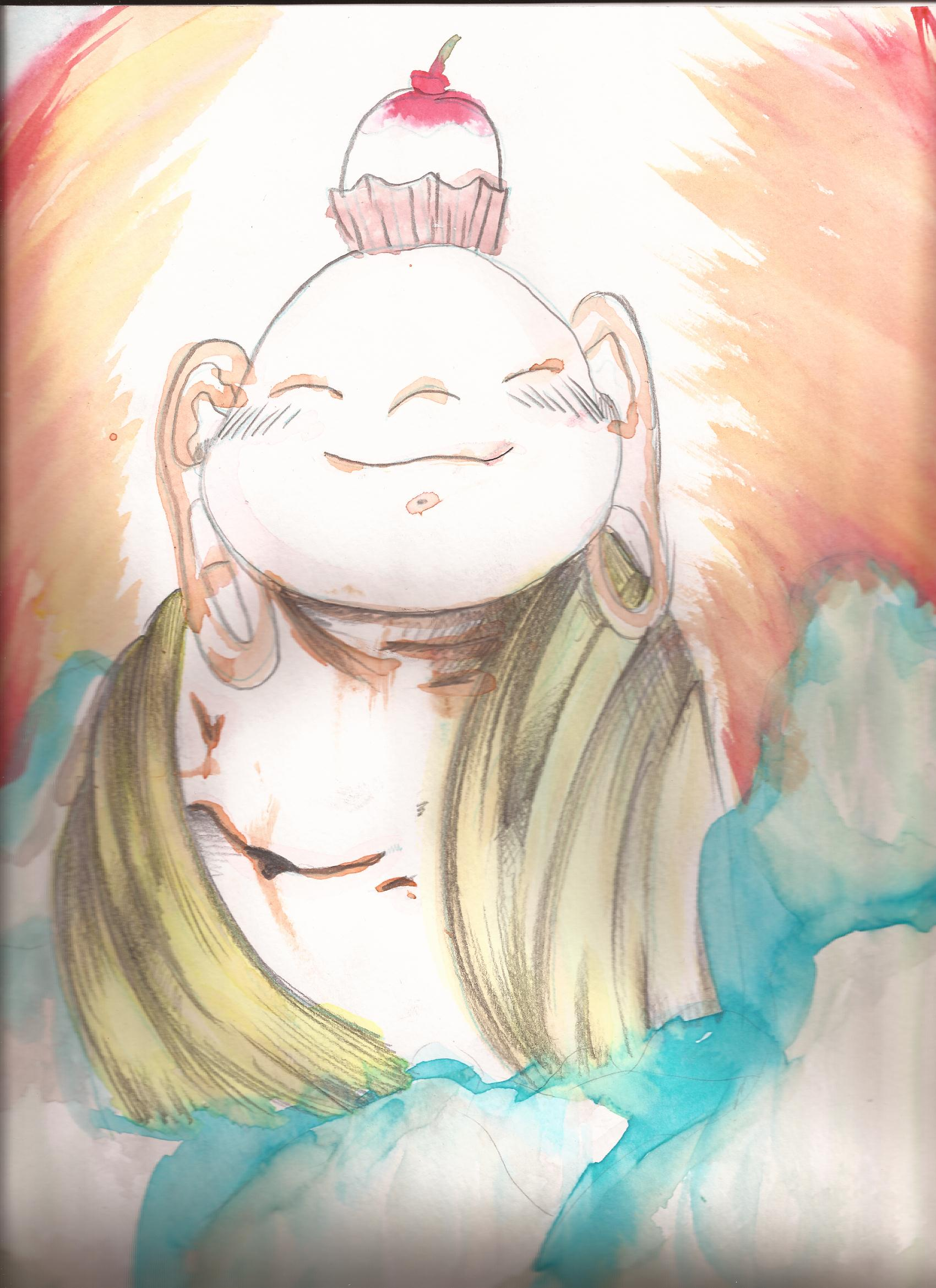 Water Color Buddha