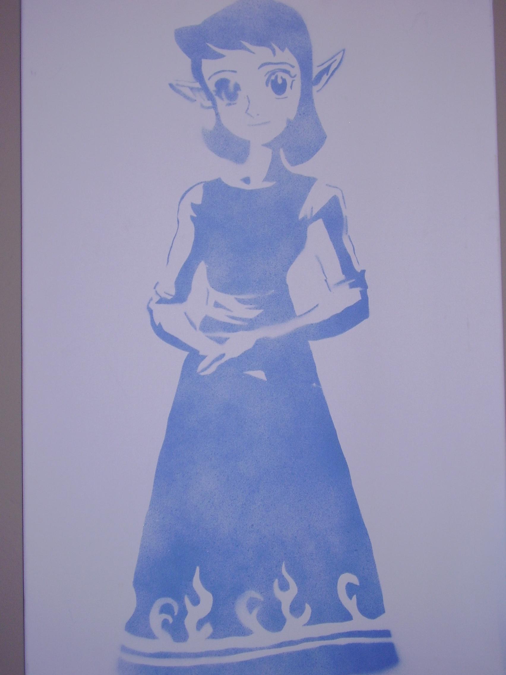 Anju in Blue