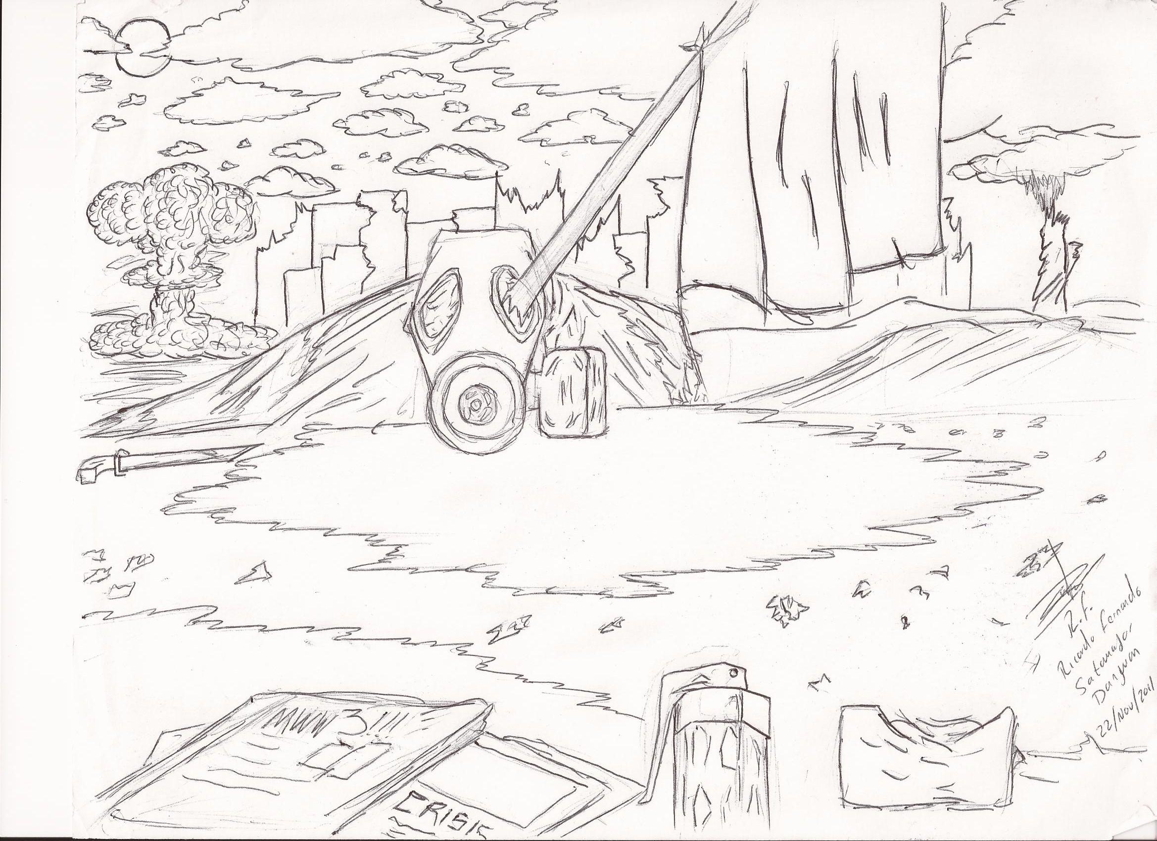 Wallpaper of My Videogame. N/C