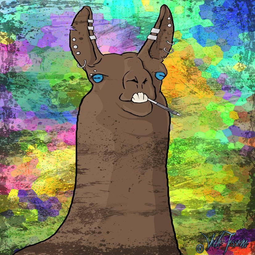 llama artist