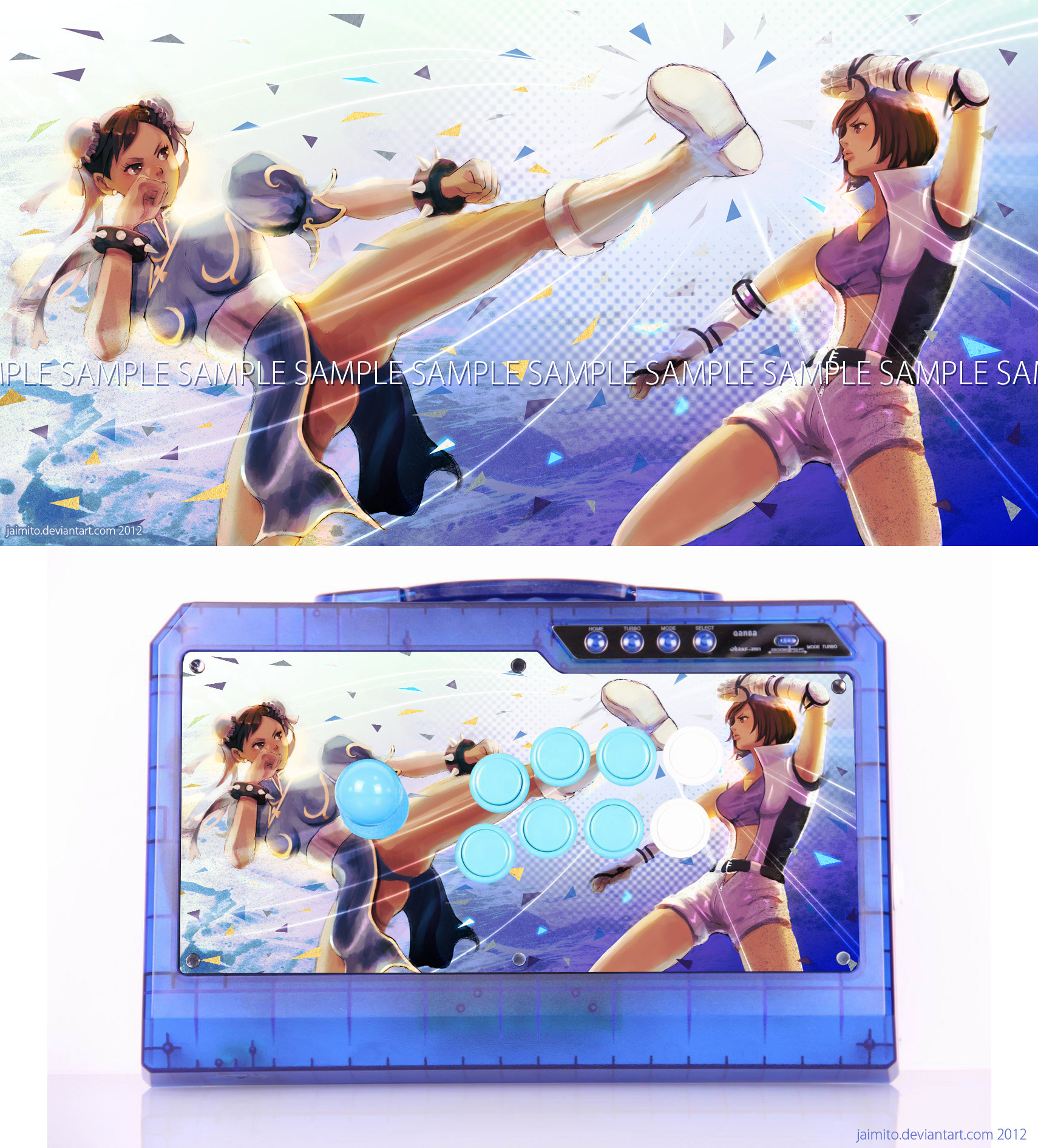 Chun-Li VS Asuka Arcade Stick
