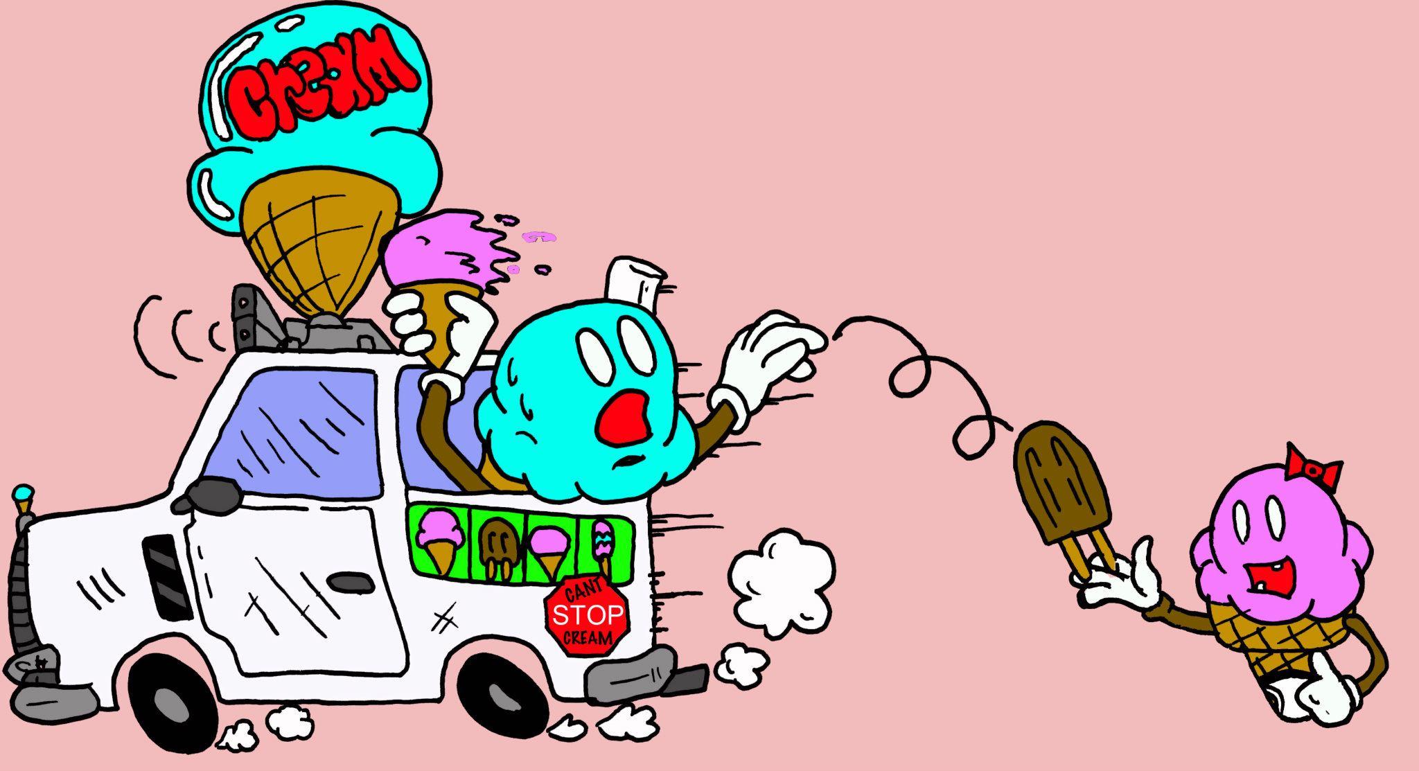 Cream Truck