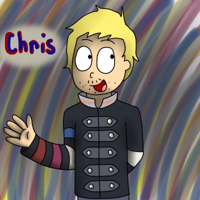 Chris Martian of Coldplay