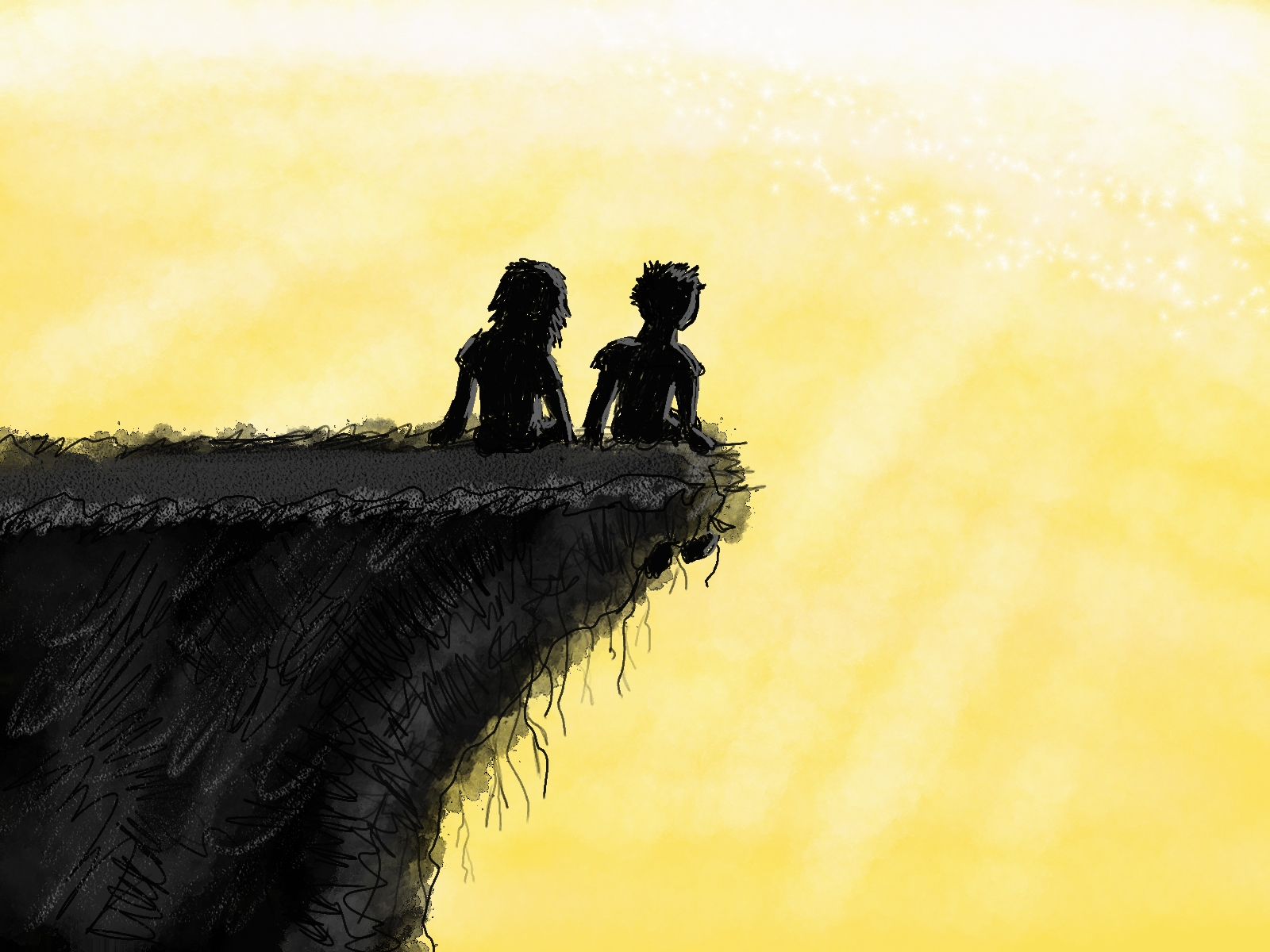 Edge of the golden sun