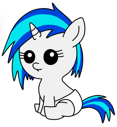 Filly Vinyl Scratch
