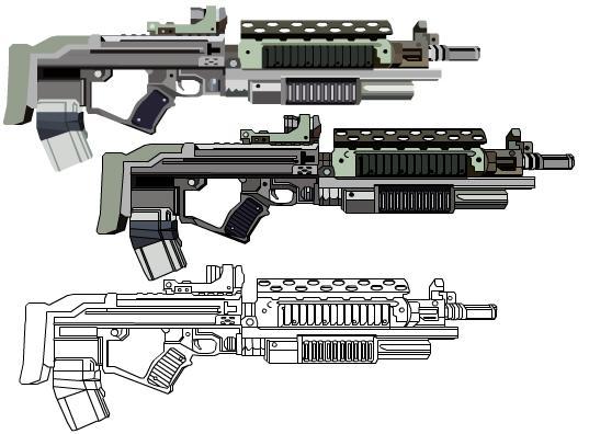 M82-G Assault Rifle