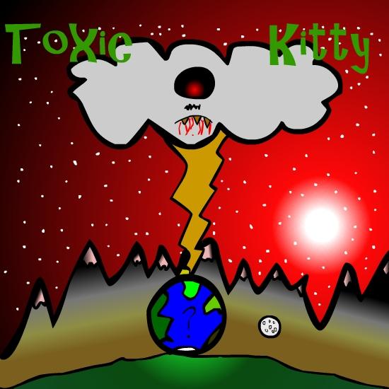 Toxic Kitty Album Cover
