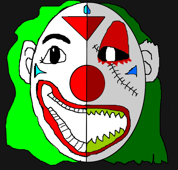 Two Face Clown