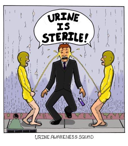 Urine Awareness Squad
